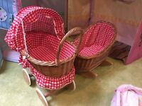 Indoor Baby Crib and Stroller