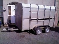 ifor williams 10x5-3 cattle trailer, clean/tidy, brakes/lights working.MUST BE SEEN