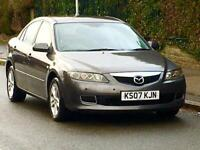 AUTOMATIC 2007 MAZDA 6 TS 2.0 LOW MILEAGE ONLY 80k LONG MOT EXCELLENT RUNNER