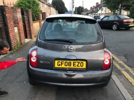Nissan micra 2008 with full service history QUICK SALE