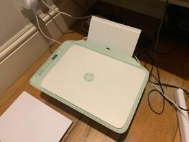 HP Deskjet 2722 Wireless Printer - Perfect working condition