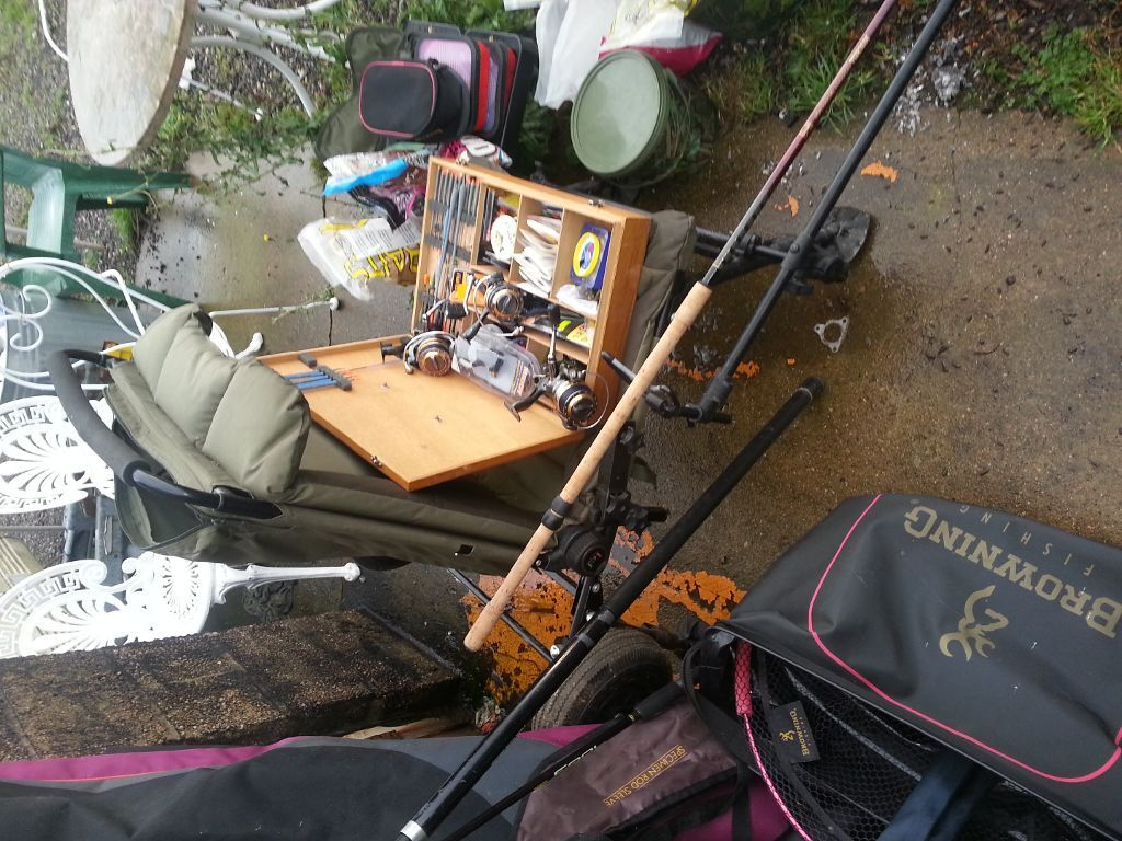 Nash rod holdall plus rods and purchase sale and for Fishing equipment for sale