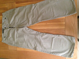 "G Star Raw 'S C Garber' Cargo Style Comfort Fit Men's Chinos (36""W x 32""L) (never worn) JUST REDUCED"