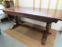 Refectory Table - Oak