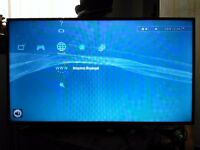 """40"""" Technica LCD HD TV with dvd drive. Freeview HD, Control and 3hdmi inputs"""