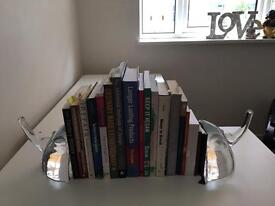 Bookend Viking Glass