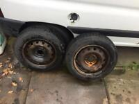 Two 175/65/14 tyres like new
