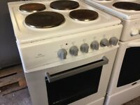 White electric cooker 50cm. Free delivery
