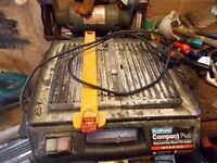 Tile cutter used for a couple of jobs