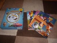 Box set of 5 Disney Film stories and audio CD inc Toy Story, Cars