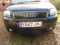 Audi A2 SE - 1.4 Petrol Excellent condition and low mileage