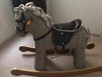 Cloth Rocking Horse - like new
