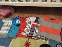 9-12 months boys tshirts mostly next