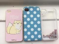 Bundle of iphone 4/4s phone cases