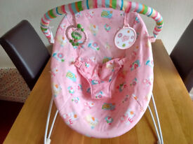 Baby bouncer from Mothercare very little use - as new condition kept boxed