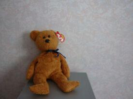 TY Original Beanie Baby 'Fuzz' born 23 July 1998