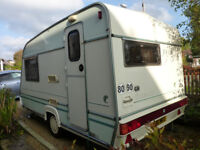 ABI Dalesman 380/2 (1997) - great 2 berth 'van, light and easy to tow. Includes all equipment.