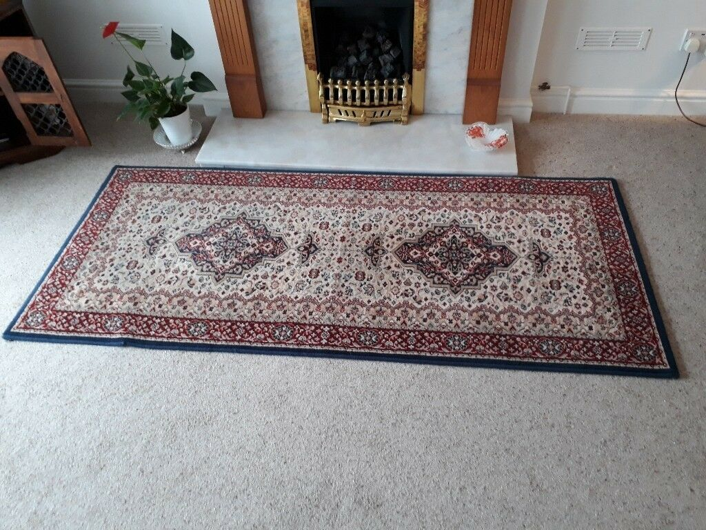 Pure New Wool Pile rug from Yorkshire England