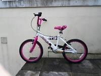 "Avigo Breeze 18"" girls bike"