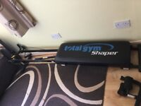 Total gym shaper As new
