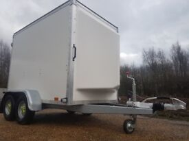 BOX TRAILER BLUELINE CAMPING BIKE MOTO X QUAD CAR BOOT TAXI AIRPORT BLUE LINE IFOR WILLIAMS KEY RING
