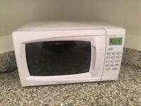 Microwave lightly used still have box