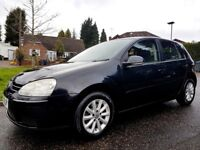 VW GOLF 1.9 TDI / SAT NAV / S MATCH/ FSH / 5 DR / 2 OWNERS / 2 KEYS / gt tdi 2.0