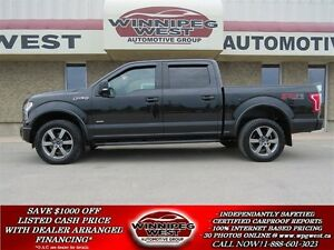 2015 Ford F-150 FX4 OFF ROAD 4X4,LEATHER,LOADED,LIKE NEW & SHARP