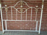 Metal King Size Headboard in Good Condition