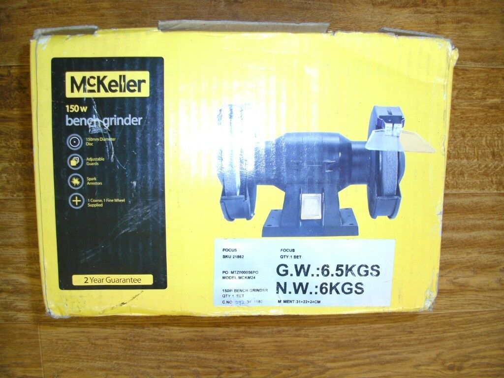 Prime Mckekker 150W Double Bench Grinder New In Box In Stoke On Trent Staffordshire Gumtree Pabps2019 Chair Design Images Pabps2019Com