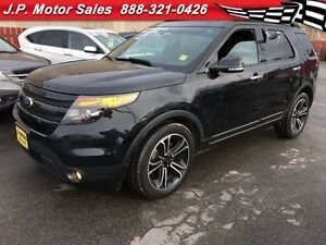2014 Ford Explorer Sport, Automatic, Sunroof, Third Row Seating,