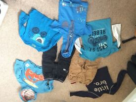 Baby boy 9-12 months from next TU and H&m