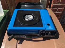 Camping gas table top gas stove