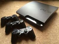 Sony PlayStation 3 - Charcoal Black 320GB with EXTRAS. **MUST GO TODAY**
