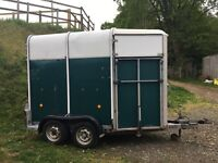 Ifor Williams HB505 Horse Trailer for SPARES OR REPAIR
