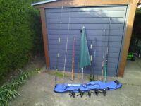 FISHING RODS REELS JOBLOT