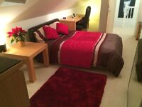 DOUBLE ROOM ONLY IN LUXURY PENTHOUSE STYLE APARTMENT MOSELEY Village B13 (The Academy)