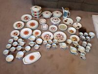 JOB LOT of J&G Meakin Dinnerware, Dinnersets, etc, *99 ITEMS* - SEE ALL PHOTOS