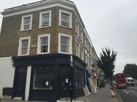 Caledonian Rd N1 2 bed 2nd flr flat with 2 double bedrooms, furnished. Fitted kitchen, bathroom WC.