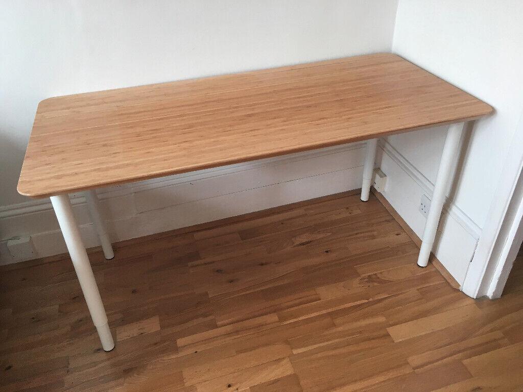 Ikea Hilver Bamboo Table Top 4x Olov