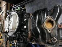 Chev marine intake and Carter carb