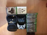 xbox one day one edition with games and extras