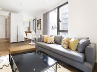 One double bedroom in a luxury new build Zone 1 flat with residents gym & pool
