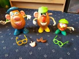 Toy story potato head family