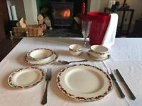 Large Churchill set wedding crockery