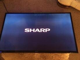 "Sharp 48"" Smart LED Tv **Faulty**"