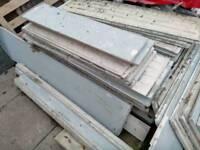 Concrete prefab garage shed workshop