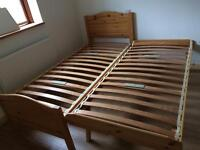 Single bed trundle