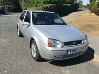 Ford Fiesta Ghia stunning condition with ultra low mileage