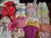 18 Mths – 2 Years Girls Summer Clothes Bundle (19 items) SET A
